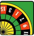 Roulette Wheel vector image vector image