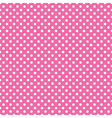 Seamless pink polka dot vector