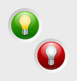 Online and offline icons vector image