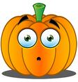 Pumpkin Face 13 vector image vector image