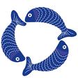 fish 1 v vector image vector image