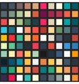 Palette seamless pattern vector image