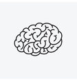 Brain icon stylized vector image