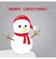 Christmas greeting card28 vector image