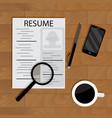 hiring for job vector image