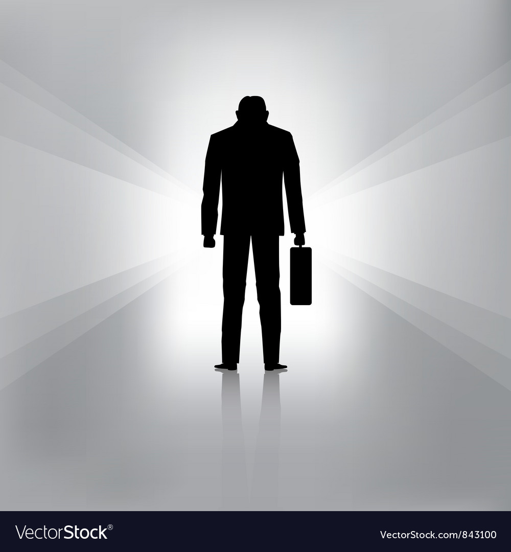 Businessman fail vector