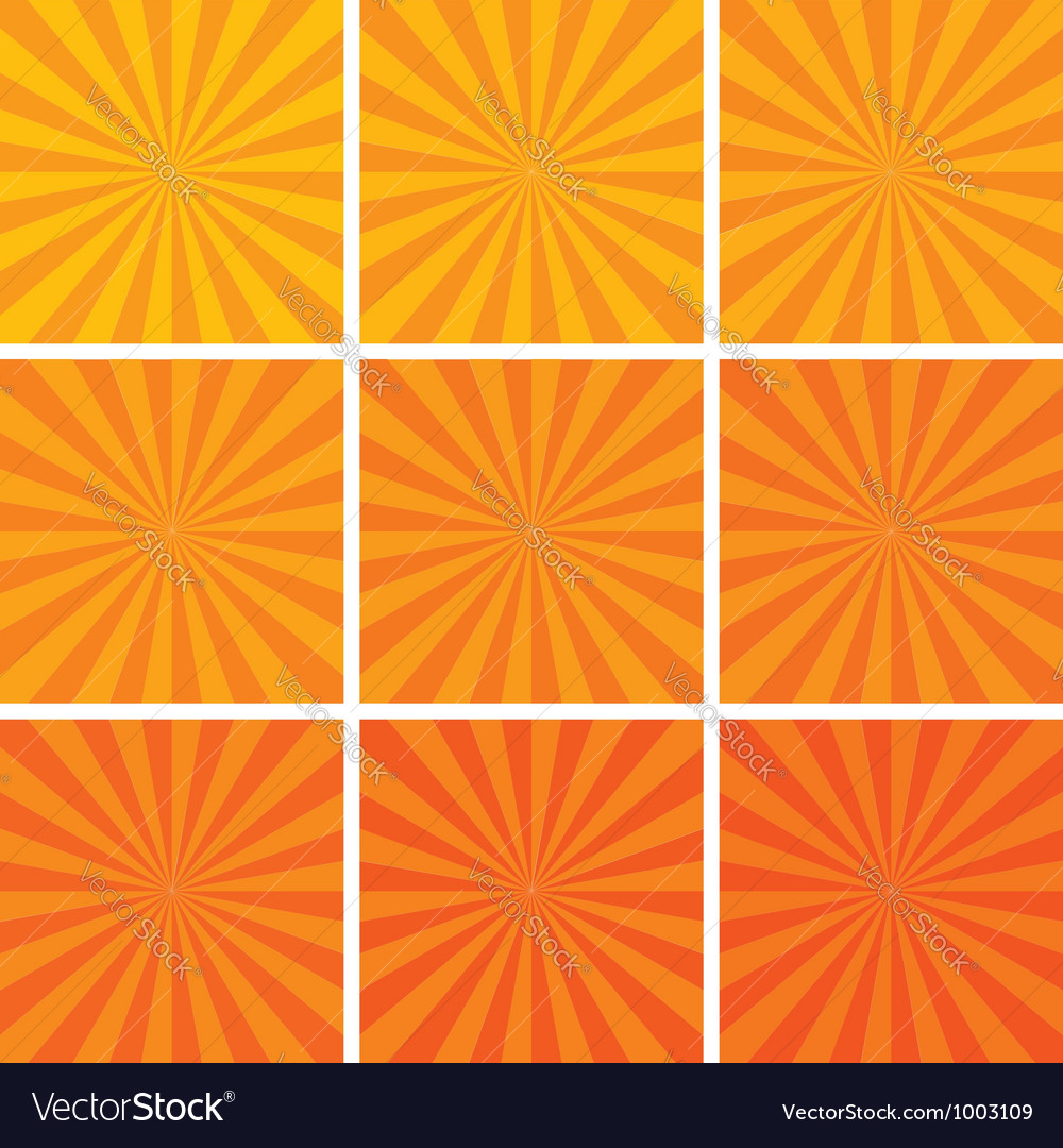 Retro backgrounds vector