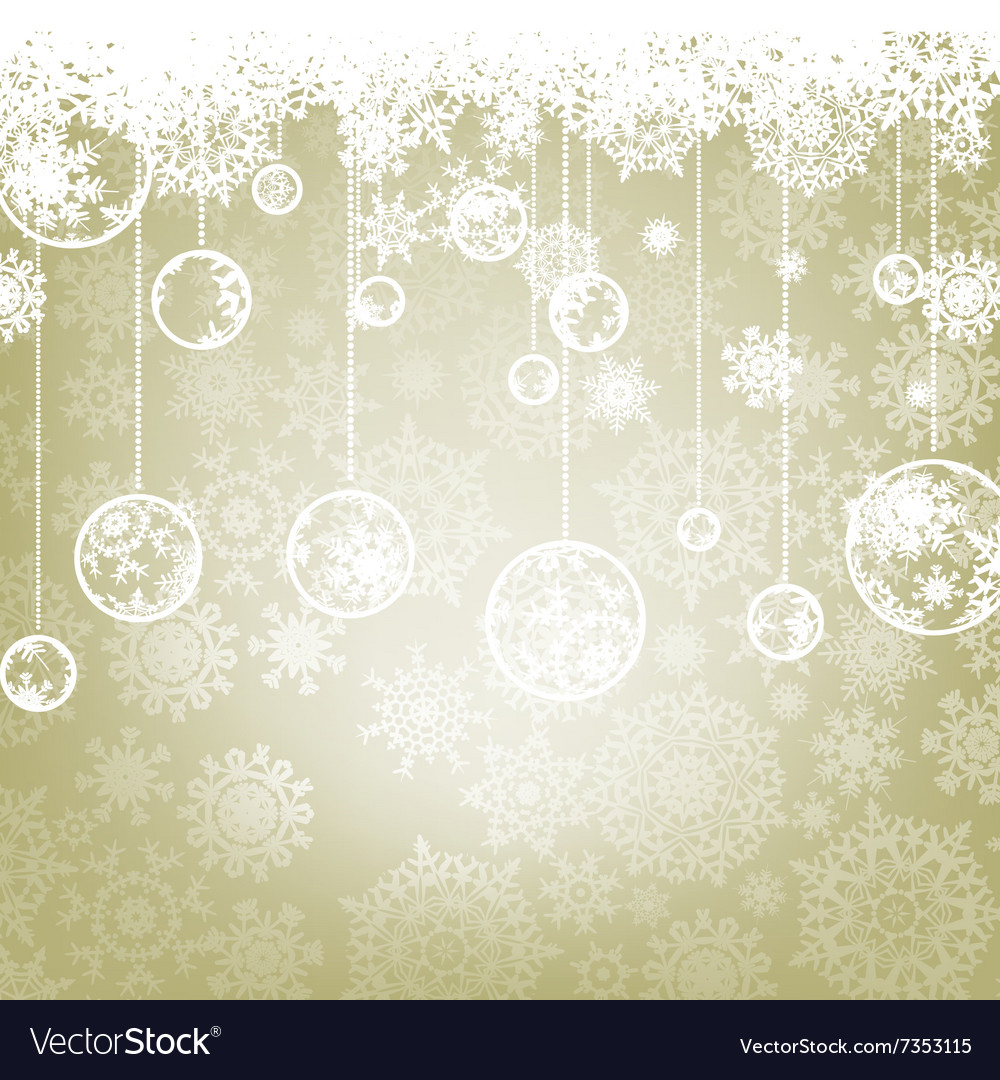 Beautiful elegant happy christmas card eps 8 vector