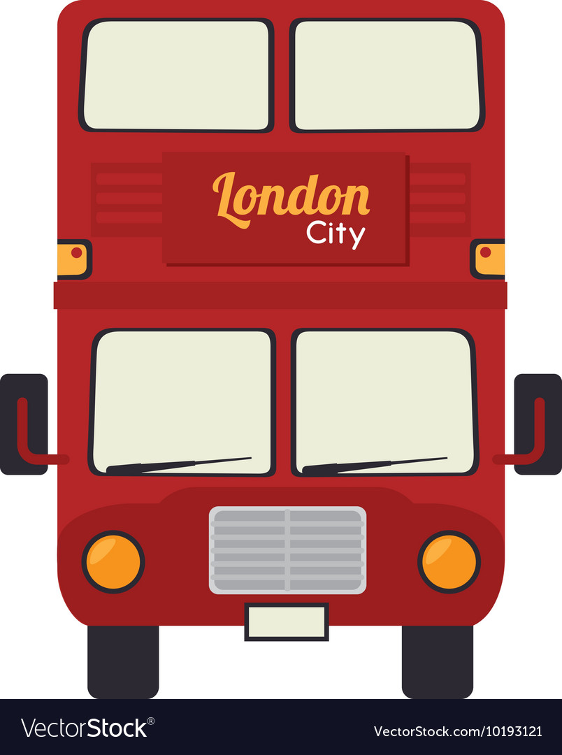 London bus uk icon graphic vector