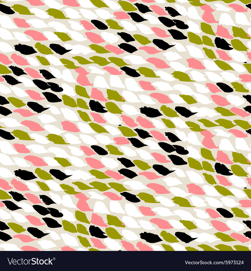 Pattern with small brushed dots vector