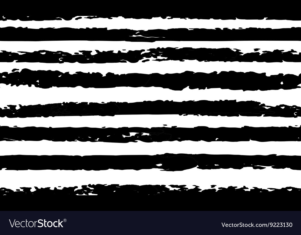 Striped seamless pattern handdrawn vector