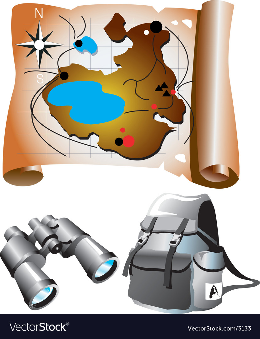 Map elements vector