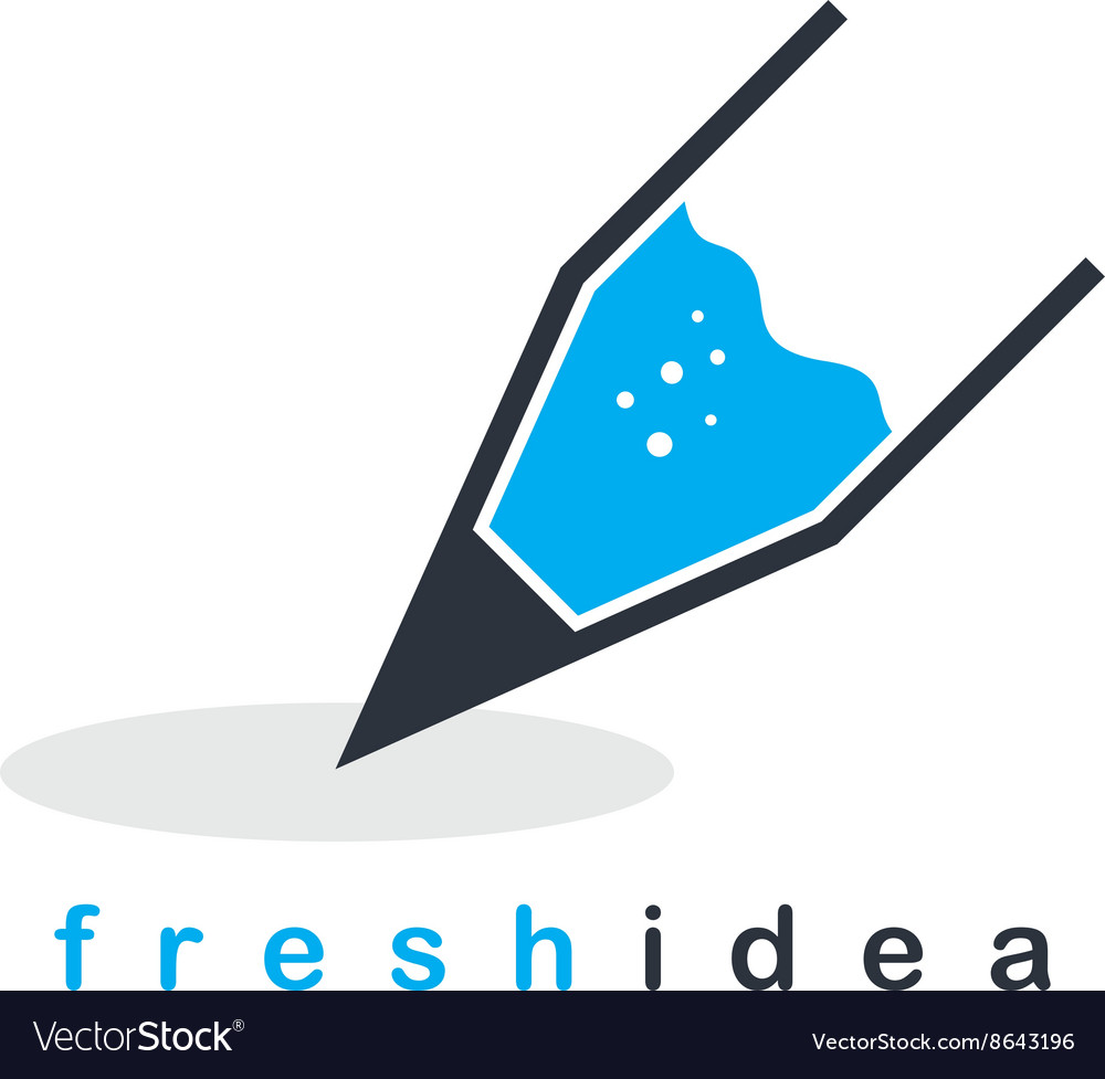 Pencil icon theme vector