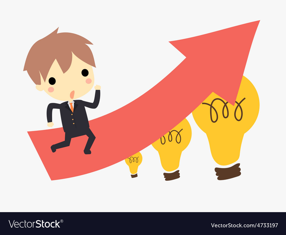 Bussiness idea vector