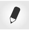 Pencil icon flat design