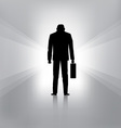 Businessman fail vector image