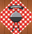 barbecue food vector image