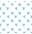 flat minimalistic paper planes seamless vector image