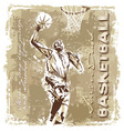 slam dunk basketball champ vector image