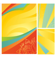 Set of hot travel banners vector image vector image