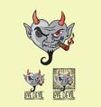 Love Devil vector image