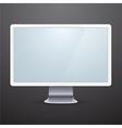 Modern computer display vector image
