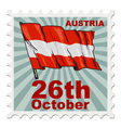 national day of Austria vector image
