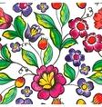 floral watercolor texture pattern Watercolor vector image