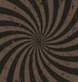 Swirl striped background vector image