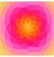 Floral spiral abstract vector image