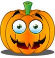 Pumpkin Face 16 vector image vector image