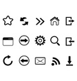 web browser tools icon vector image vector image