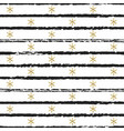 glitter gold striped christmas new year seamless vector image