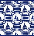seamless pattern for sea vector image