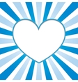 sign of heart vector image vector image