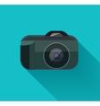 Flat camera vector image
