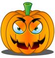 Pumpkin Face 17 vector image vector image