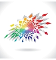 Circle Colorful Elements vector image vector image