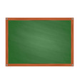 school green board in cartoon style vector image