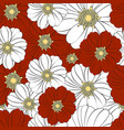 seamless texture with a pattern of summer vector image