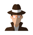 faceless man avatar icon image vector image