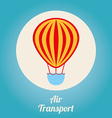 air transport design vector image