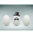 Chicken egg Stock vector image