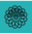 Bohemic design mandale icon decoration concept vector image