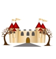Castle And Trees vector image