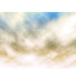 Colored sky vector image vector image