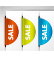 sale label set vector image vector image