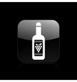 wine icon vector image vector image