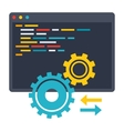 API Icon vector image