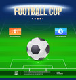 football event flyer template place your text and vector image
